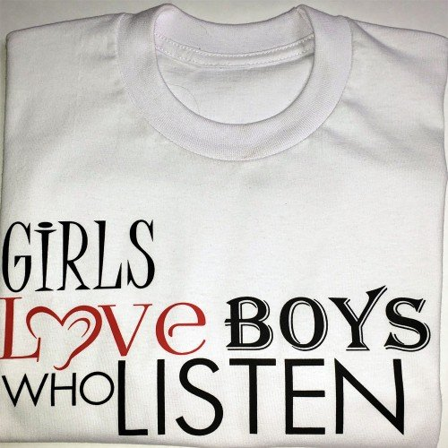 TM Hair Products Girls Love Boys Who Listen T-Shirt